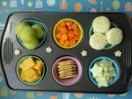 muffin tin meal, tiny portion sizes for little eaters,