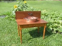 repurposed table,
