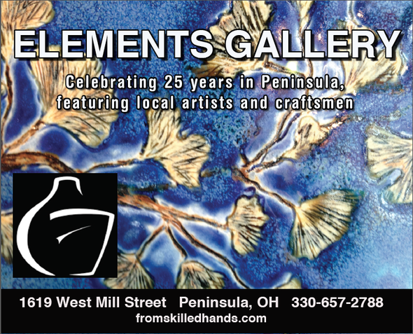 Elements Gallery, Peninsula Ohio